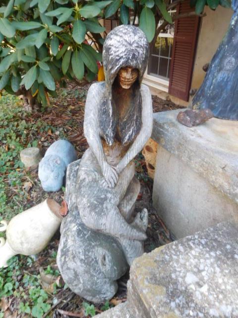 Yard Art, Stones, Carving,Vessels, Whirligigs, Folk Art from the Estate Of Mark King - DSCN1318.JPG