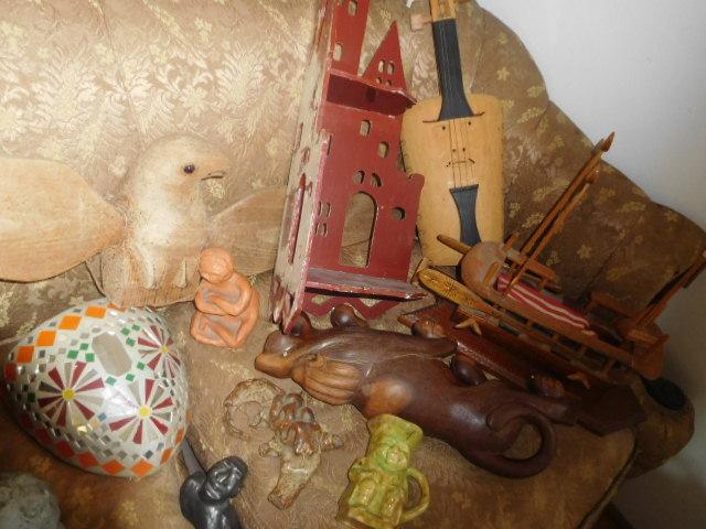 Yard Art, Stones, Carving,Vessels, Whirligigs, Folk Art from the Estate Of Mark King - DSCN1328.JPG