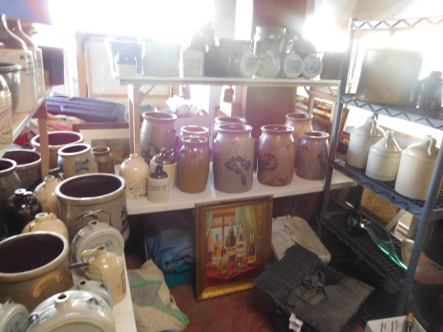 Antiques and Estates Auction New Years Day- Dr. Ralph Van Brocklin Crocks and  Advertising, Don and Shirley Kay  Collection, Charlie Green Bottle Collection and much more - DSCN8059.JPG
