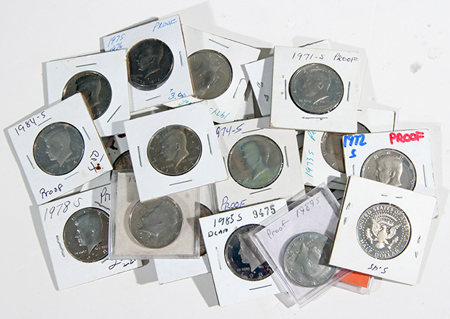 Rare Proof Coins and others, Fine Military-Modern- And Long Guns- A St. Louis Cane Collection - 100_1_1.jpg
