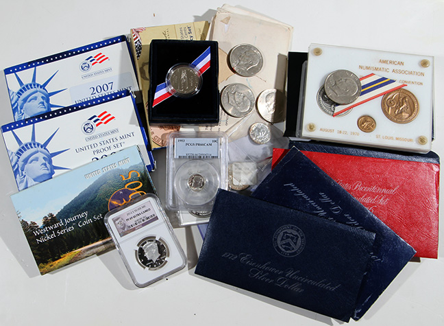 Rare Proof Coins and others, Fine Military-Modern- And Long Guns- A St. Louis Cane Collection - 134_1.jpg