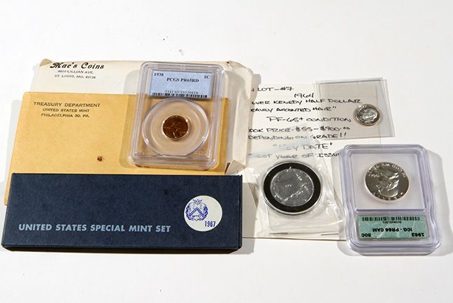 Rare Proof Coins and others, Fine Military-Modern- And Long Guns- A St. Louis Cane Collection - 197_1.jpg