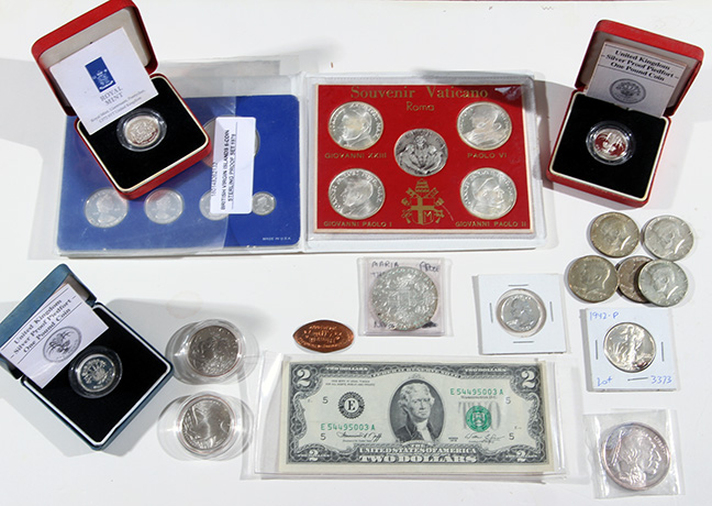 Rare Proof Coins and others, Fine Military-Modern- And Long Guns- A St. Louis Cane Collection - 40_1.jpg