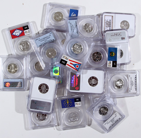 Rare Proof Coins and others, Fine Military-Modern- And Long Guns- A St. Louis Cane Collection - 63_1.jpg