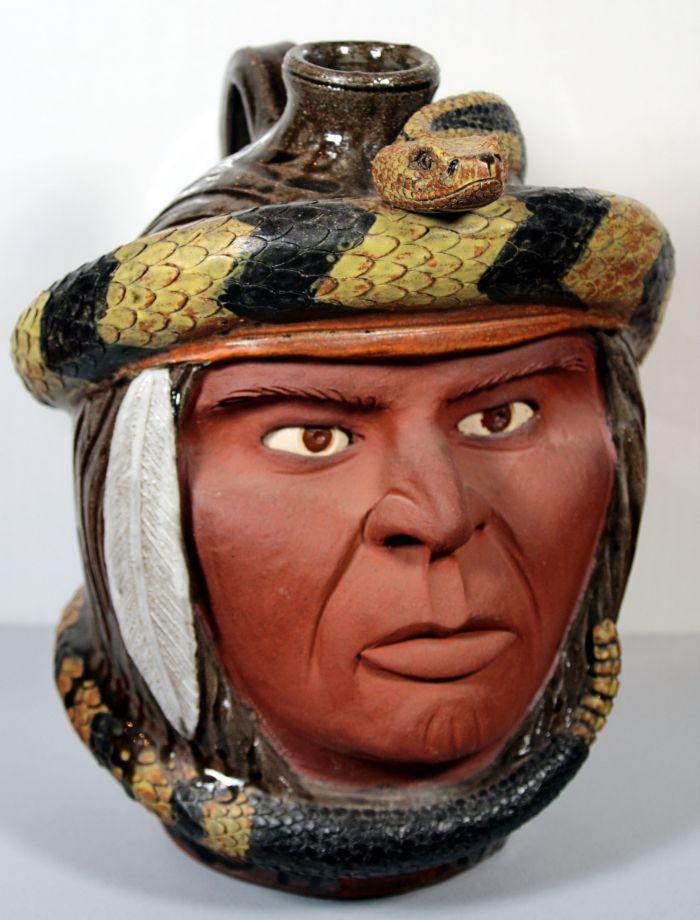 Ted and Ann Oliver Outsider- Folk Art and Pottery Lifetime Collection Auction - 215.jpg.JPG