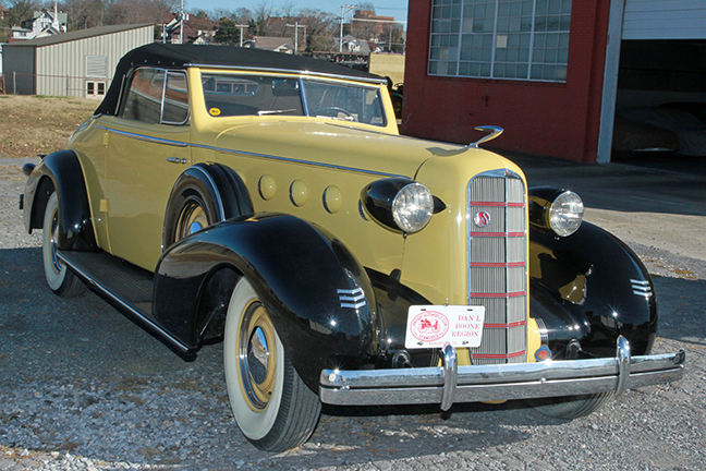 David Berry Estate Auction New Years Day-1935 LaSalle, 1936 Ford, Mascots, Antique Pharmacy items and more - 6094.jpg