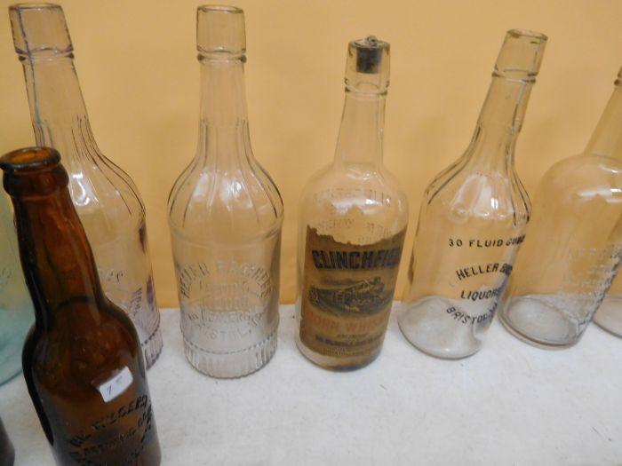 Ralph Van Brocklin Estate- Bottles- Post and Trade cards--Mini Jugs and other advertising - DSCN9646.JPG