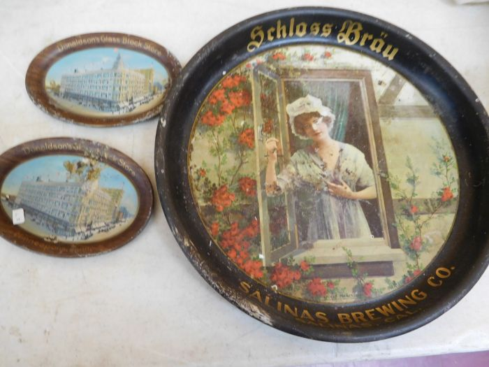 Ralph Van Brocklin Estate- Bottles- Post and Trade cards--Mini Jugs and other advertising - DSCN9666.JPG