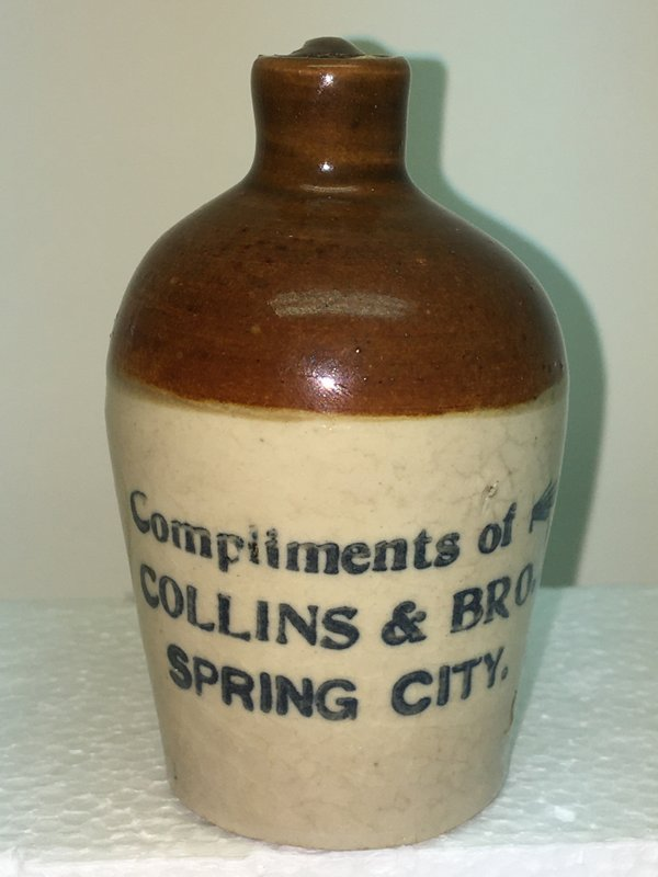 Ralph Van Brocklin Estate- Bottles- Post and Trade cards--Mini Jugs and other advertising - IMG_2659.JPG