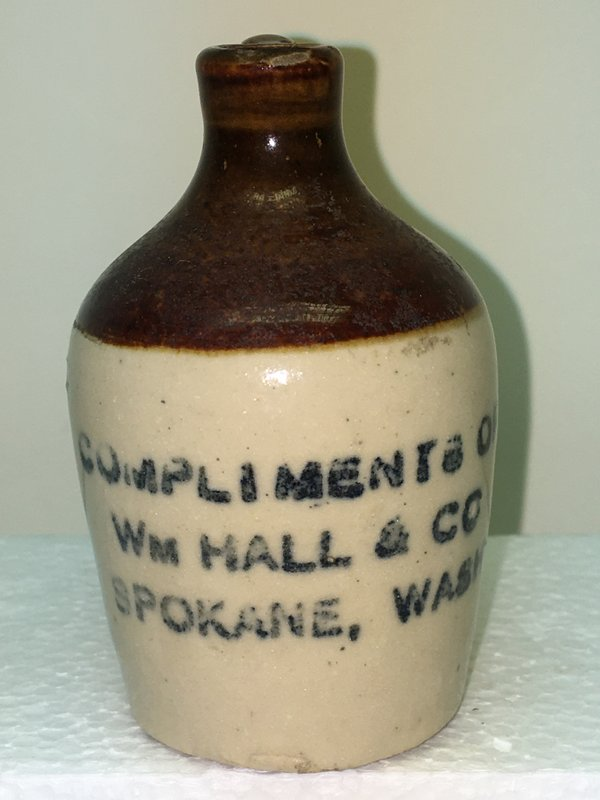 Ralph Van Brocklin Estate- Bottles- Post and Trade cards--Mini Jugs and other advertising - IMG_3067.JPG