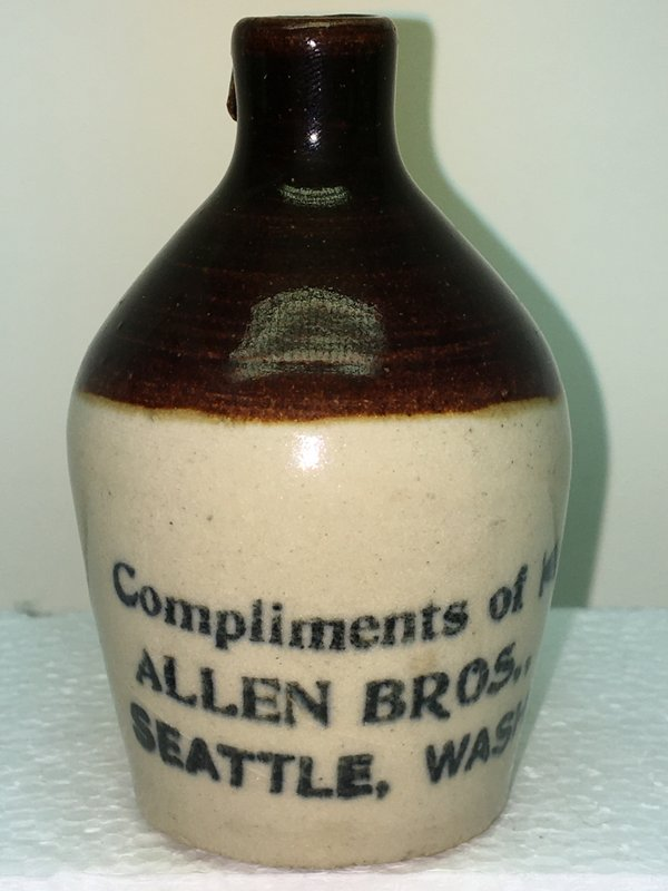 Ralph Van Brocklin Estate- Bottles- Post and Trade cards--Mini Jugs and other advertising - IMG_3070.JPG