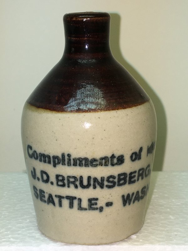 Ralph Van Brocklin Estate- Bottles- Post and Trade cards--Mini Jugs and other advertising - IMG_3073.JPG