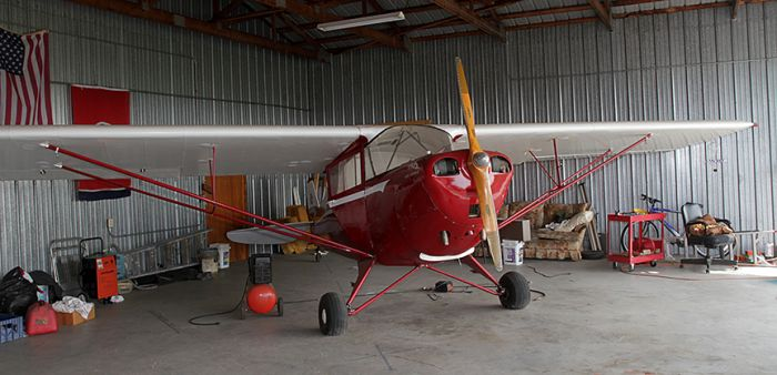 James Summers Estate- Areonca L-3( 1941), Piper Cub Coupe J4 S( 1940),  Aeronca  7 ac (1946)Champ, Studebaker Silver Hawk,1963 Volvo 1800 ( plus a Street Rod and a 2007 42 foot Gulf Stream RV) and more  - 2_3.jpg