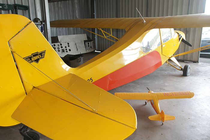 James Summers Estate- Areonca L-3( 1941), Piper Cub Coupe J4 S( 1940),  Aeronca  7 ac (1946)Champ, Studebaker Silver Hawk,1963 Volvo 1800 ( plus a Street Rod and a 2007 42 foot Gulf Stream RV) and more  - 3_4.jpg